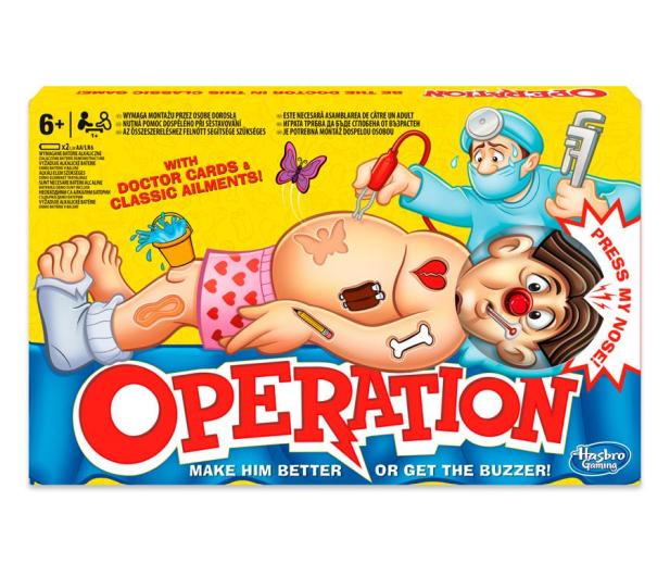 Hasbro Operacja - 273063 - zdjęcie