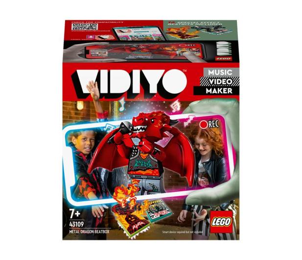 LEGO VIDIYO 43109 Metal Dragon BeatBox - 1019924 - zdjęcie