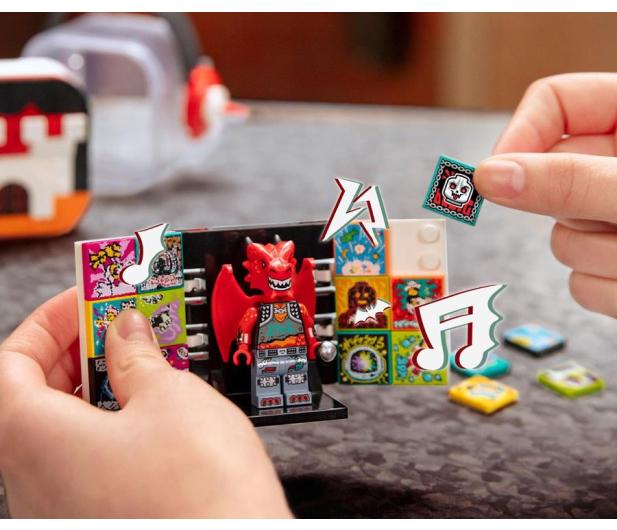 LEGO VIDIYO 43109 Metal Dragon BeatBox - 1019924 - zdjęcie 2