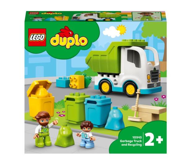 Śmieciarka i recykling