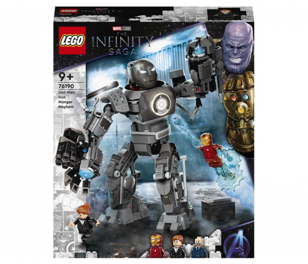 Iron Man: zadyma z Iron Mongerem