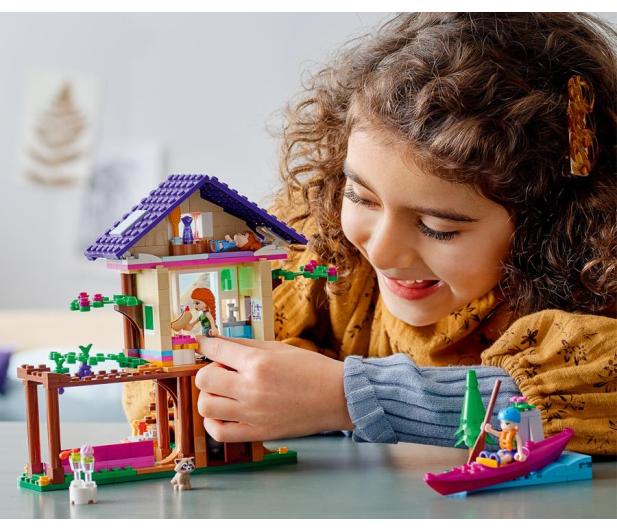 LEGO Friends 41679 Leśny domek - 1019979 - zdjęcie 2