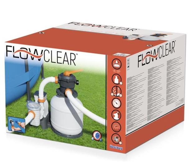 Bestway Piaskowa pompa filtrująca Flowclear 8327l - 1018225 - zdjęcie 3