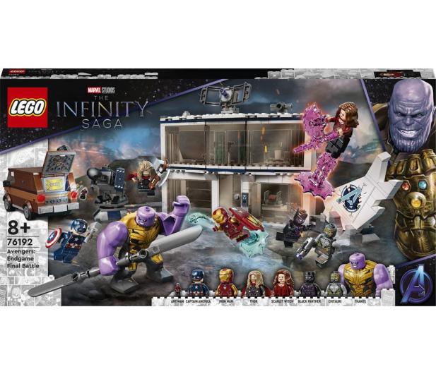 LEGO Marvel 76192 Avengers: Koniec gry — ostateczna bitwa - 1019990 - zdjęcie