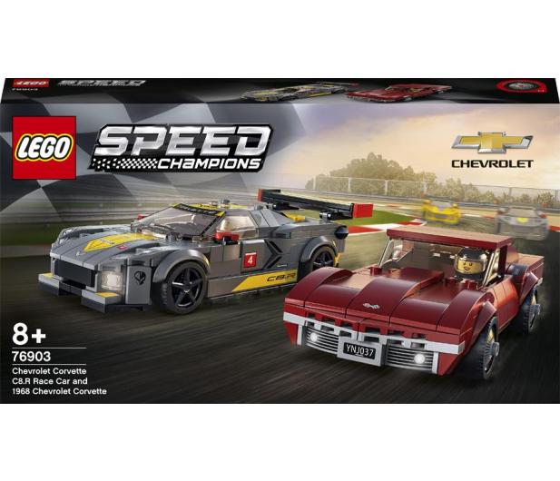 Samochód wyścigowy Chevrolet Corvette