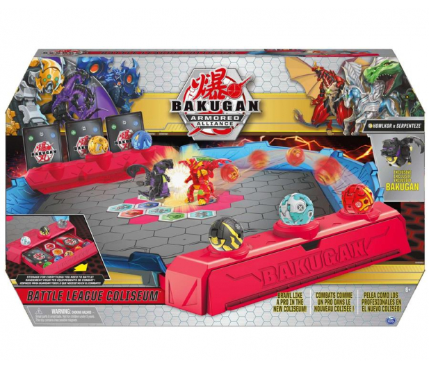 Spin Master Bakugan Battle Arena do Walki - 1019031 - zdjęcie 4