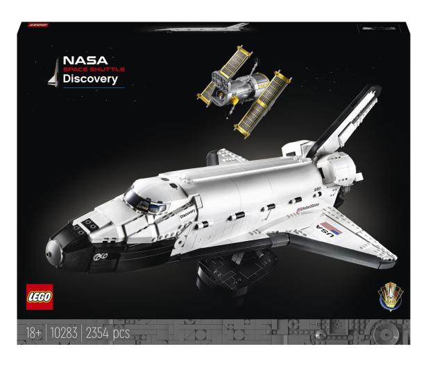 LEGO Creator Expert 10283 Wahadłowiec Discovery NASA - 1021959 - zdjęcie