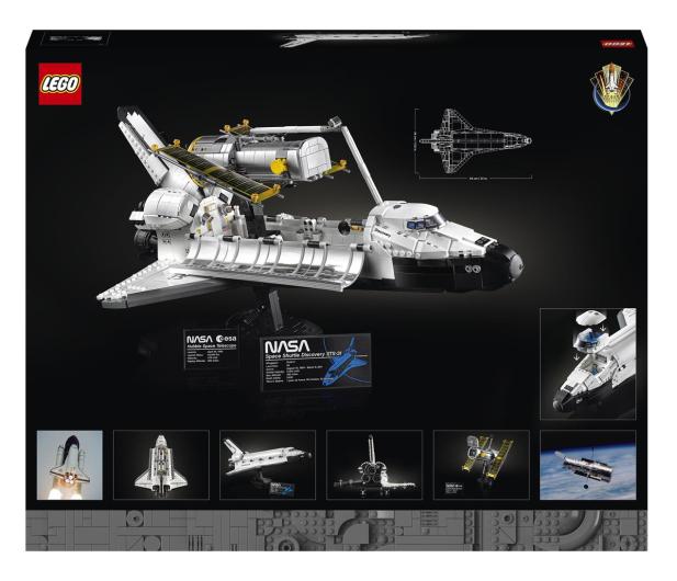 LEGO Creator Expert 10283 Wahadłowiec Discovery NASA - 1021959 - zdjęcie 8