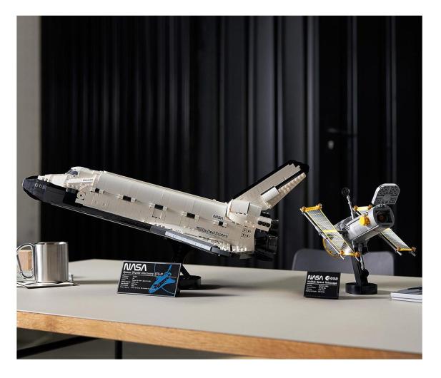 LEGO Creator Expert 10283 Wahadłowiec Discovery NASA - 1021959 - zdjęcie 4