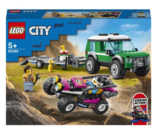 LEGO City 60288 Transporter łazika wyścigowego - 1013023 - zdjęcie