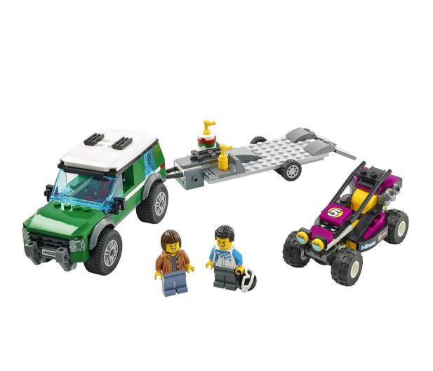 LEGO City 60288 Transporter łazika wyścigowego - 1013023 - zdjęcie 7