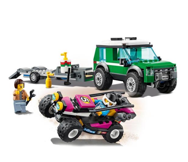 LEGO City 60288 Transporter łazika wyścigowego - 1013023 - zdjęcie 5
