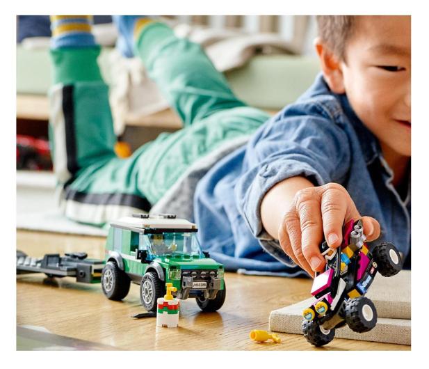 LEGO City 60288 Transporter łazika wyścigowego - 1013023 - zdjęcie 3