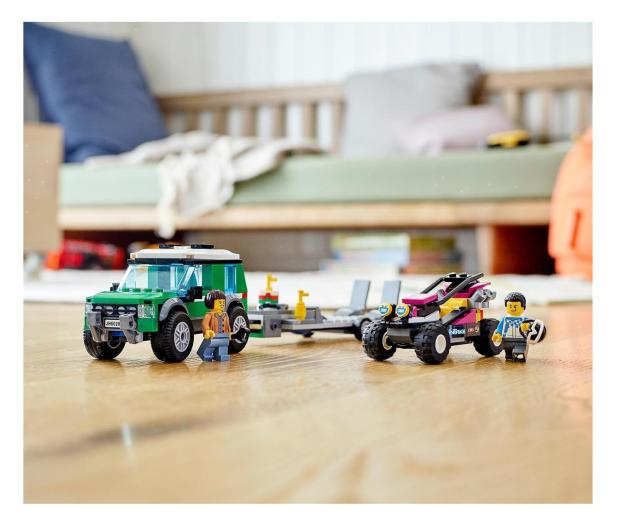 LEGO City 60288 Transporter łazika wyścigowego - 1013023 - zdjęcie 4