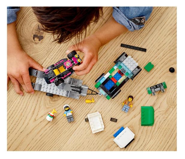 LEGO City 60288 Transporter łazika wyścigowego - 1013023 - zdjęcie 2
