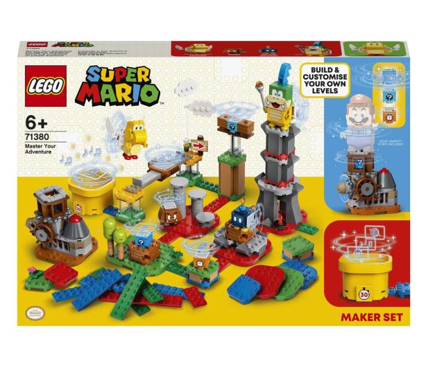 LEGO Super Mario 71380 Mistrzowskie przygody - zestaw  - 1012982 - zdjęcie