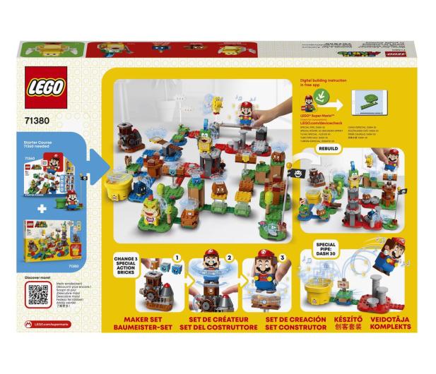 LEGO Super Mario 71380 Mistrzowskie przygody - zestaw  - 1012982 - zdjęcie 7