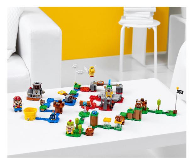 LEGO Super Mario 71380 Mistrzowskie przygody - zestaw  - 1012982 - zdjęcie 4