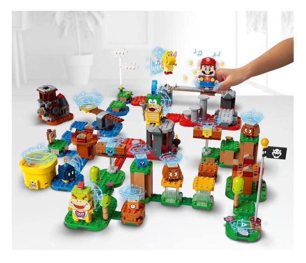 LEGO Super Mario 71380 Mistrzowskie przygody - zestaw  - 1012982 - zdjęcie 5