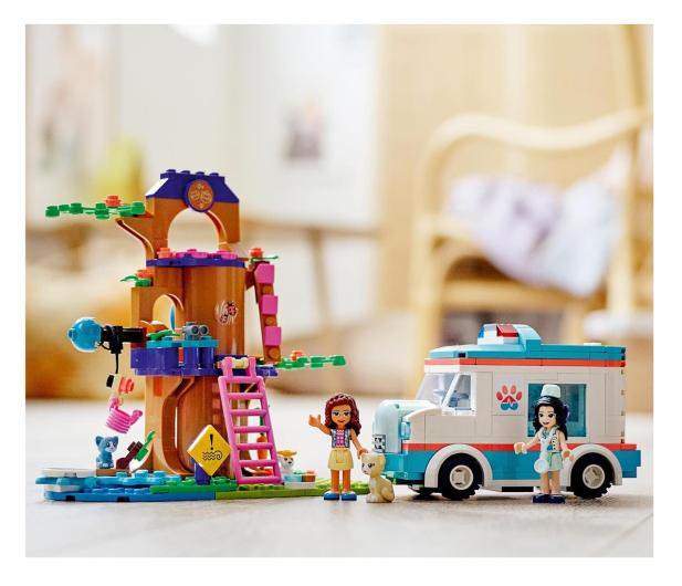 LEGO Friends 41445 Karetka weterynaryjna - 1015578 - zdjęcie 4