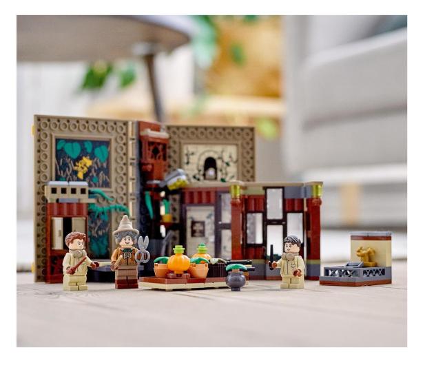 LEGO Harry Potter 76384 Chwile z Hogwartu: zajęcia z zi - 1012861 - zdjęcie 4