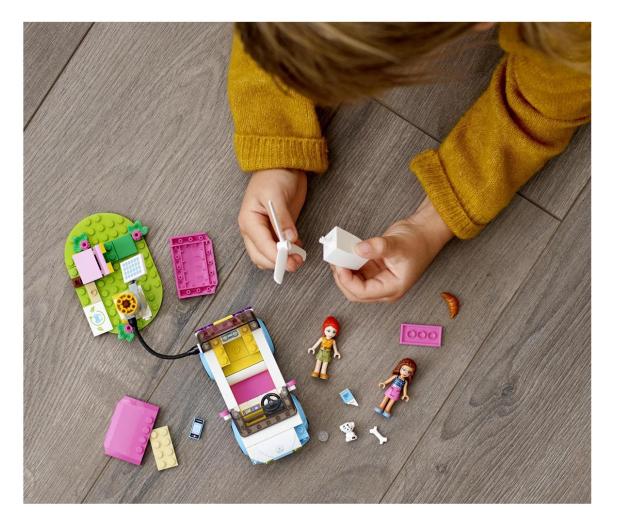 LEGO Friends 41443 Samochód elektryczny Olivii - 1012742 - zdjęcie 2