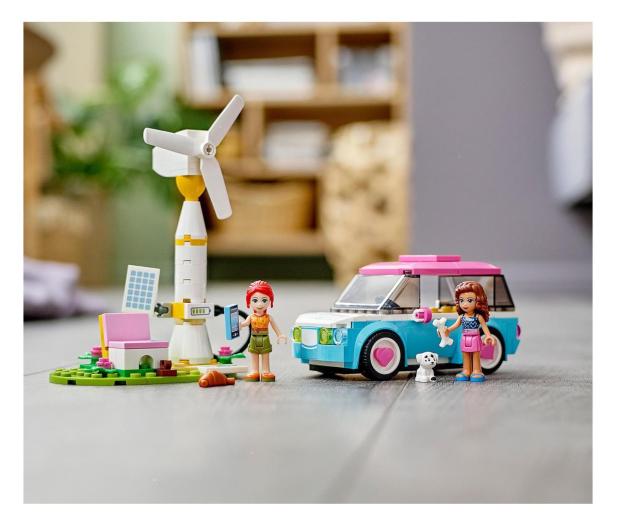 LEGO Friends 41443 Samochód elektryczny Olivii - 1012742 - zdjęcie 4