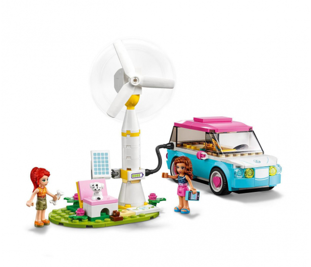 LEGO Friends 41443 Samochód elektryczny Olivii - 1012742 - zdjęcie 5