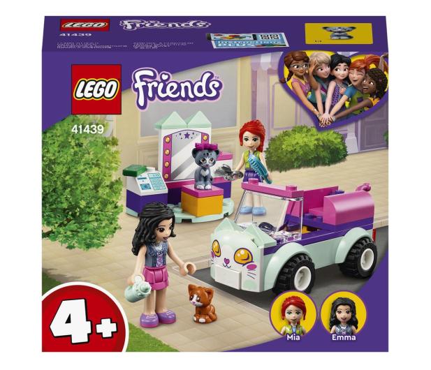 LEGO Friends 41439 Samochód do pielęgnacji kotów - 1012741 - zdjęcie