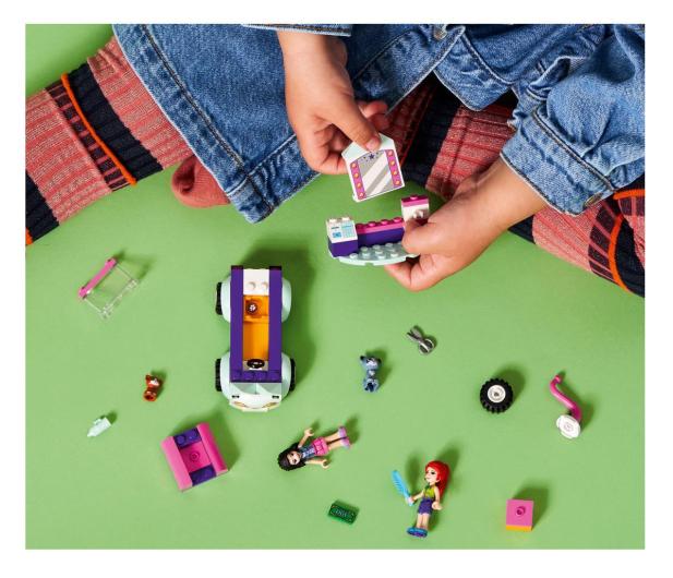 LEGO Friends 41439 Samochód do pielęgnacji kotów - 1012741 - zdjęcie 2