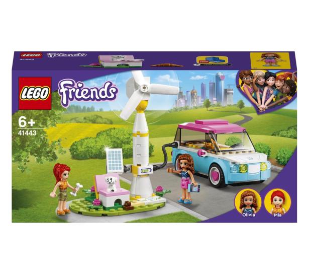 LEGO Friends 41443 Samochód elektryczny Olivii - 1012742 - zdjęcie