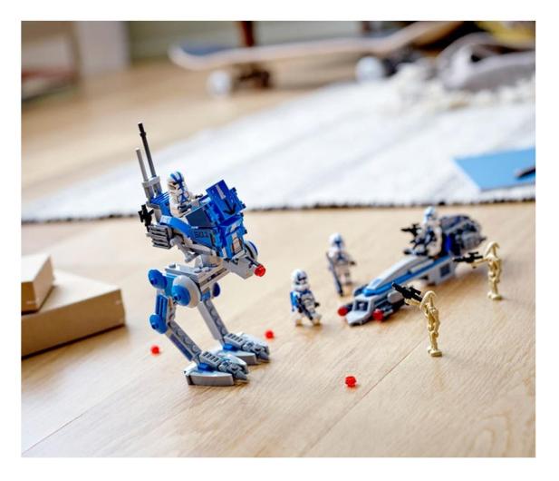 LEGO Star Wars 75280 Żołnierze-klony z 501. legionu - 579120 - zdjęcie 3
