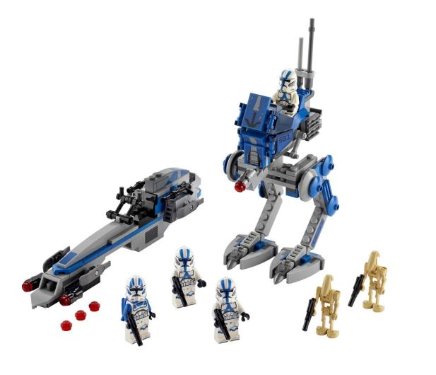 LEGO Star Wars 75280 Żołnierze-klony z 501. legionu - 579120 - zdjęcie 6