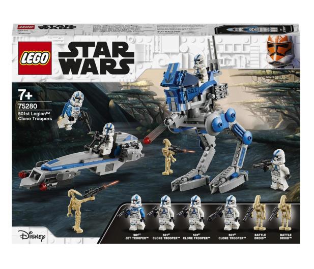LEGO Star Wars 75280 Żołnierze-klony z 501. legionu - 579120 - zdjęcie