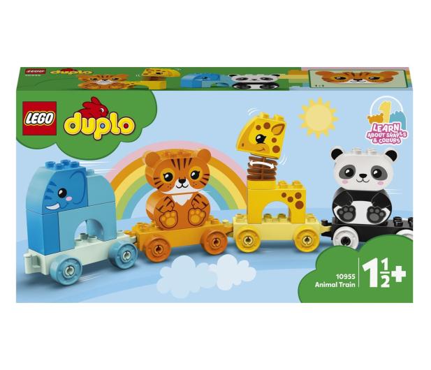 LEGO DUPLO 10955 Pociąg ze zwierzątkami - 1012699 - zdjęcie