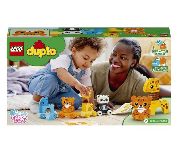 LEGO DUPLO 10955 Pociąg ze zwierzątkami - 1012699 - zdjęcie 6
