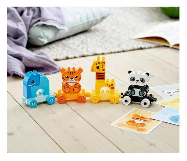 LEGO DUPLO 10955 Pociąg ze zwierzątkami - 1012699 - zdjęcie 4