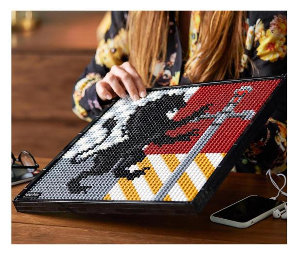 LEGO Art 31201 Harry Potter Herby Hogwartu - 1012708 - zdjęcie 4