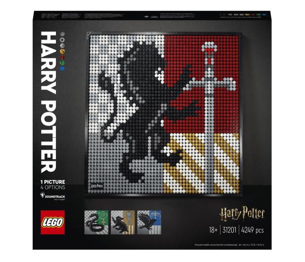 LEGO Art 31201 Harry Potter Herby Hogwartu - 1012708 - zdjęcie