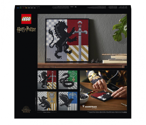 LEGO Art 31201 Harry Potter Herby Hogwartu - 1012708 - zdjęcie 7