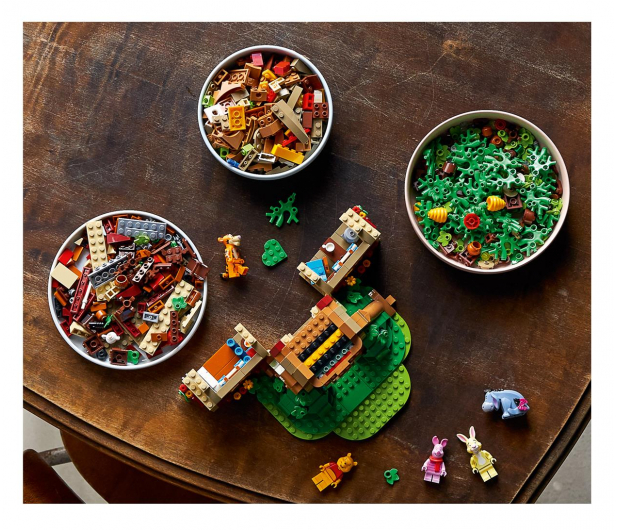LEGO Ideas 21326 Kubuś Puchatek - 1022226 - zdjęcie 2