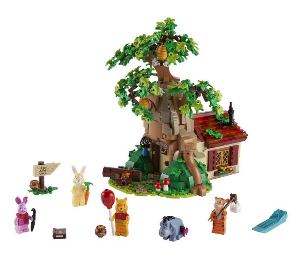 LEGO Ideas 21326 Kubuś Puchatek - 1022226 - zdjęcie 6