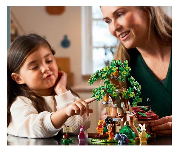 LEGO Ideas 21326 Kubuś Puchatek - 1022226 - zdjęcie 3