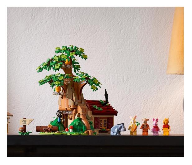 LEGO Ideas 21326 Kubuś Puchatek - 1022226 - zdjęcie 4