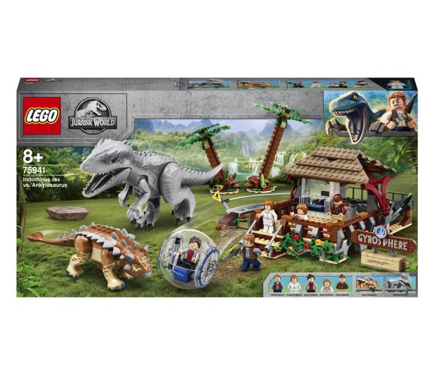 LEGO Jurassic World 75941 Indominus Rex kontra ankyloza - 562902 - zdjęcie