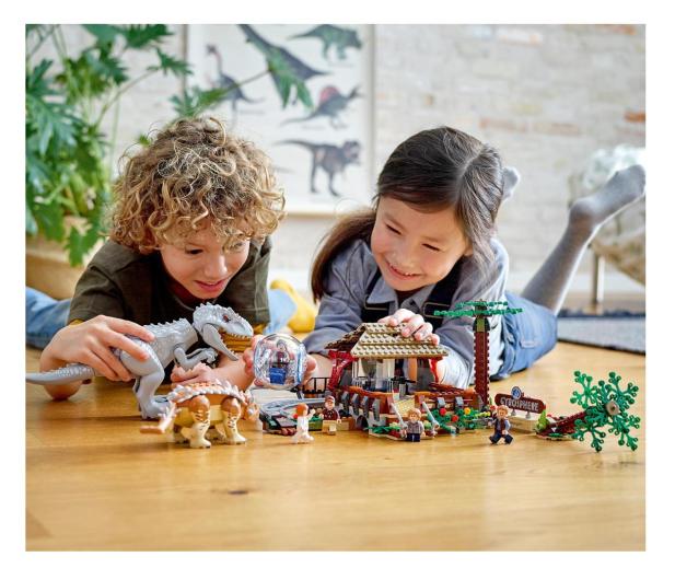LEGO Jurassic World 75941 Indominus Rex kontra ankyloza - 562902 - zdjęcie 2