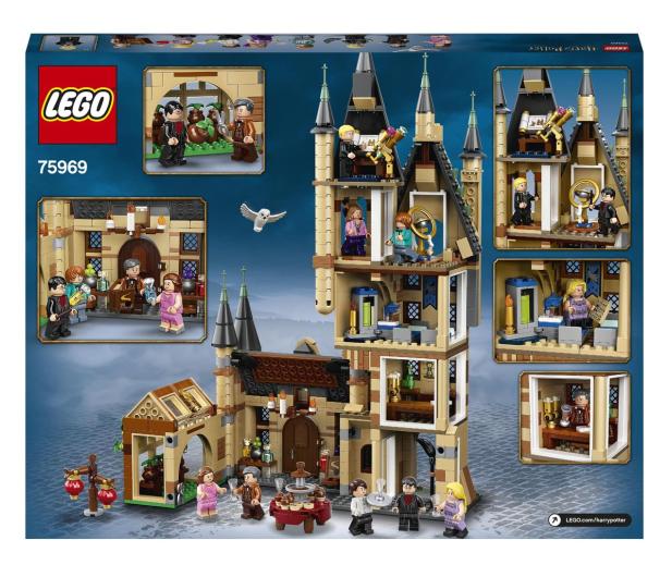 LEGO Harry Potter 75969 Wieża Astronomiczna w Hogwarcie - 565413 - zdjęcie 8