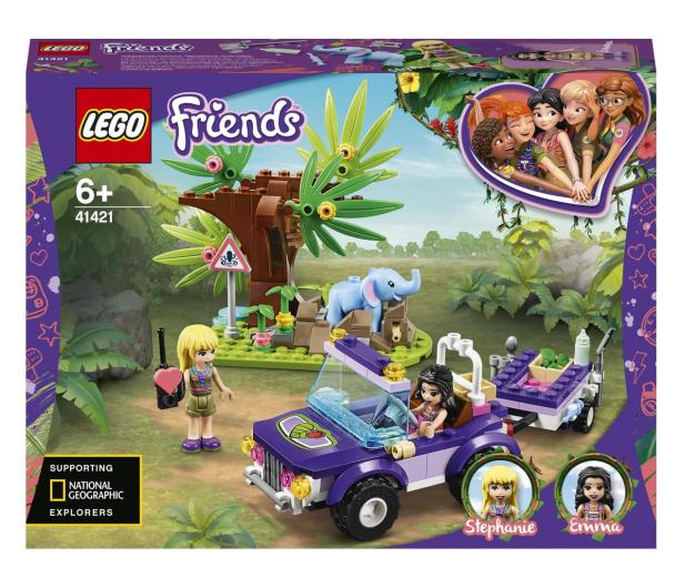 LEGO Friends 41421 Na ratunek słoniątku - 561760 - zdjęcie