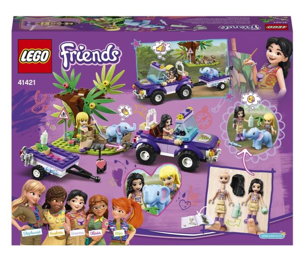 LEGO Friends 41421 Na ratunek słoniątku - 561760 - zdjęcie 7