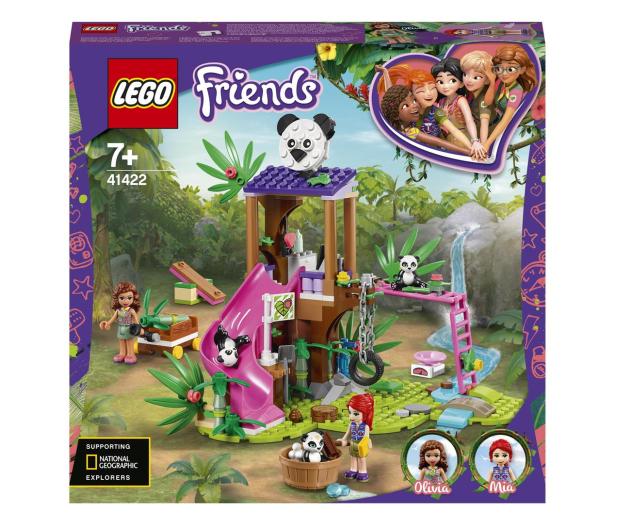 LEGO Friends 41422 Domek pand na drzewie - 561780 - zdjęcie